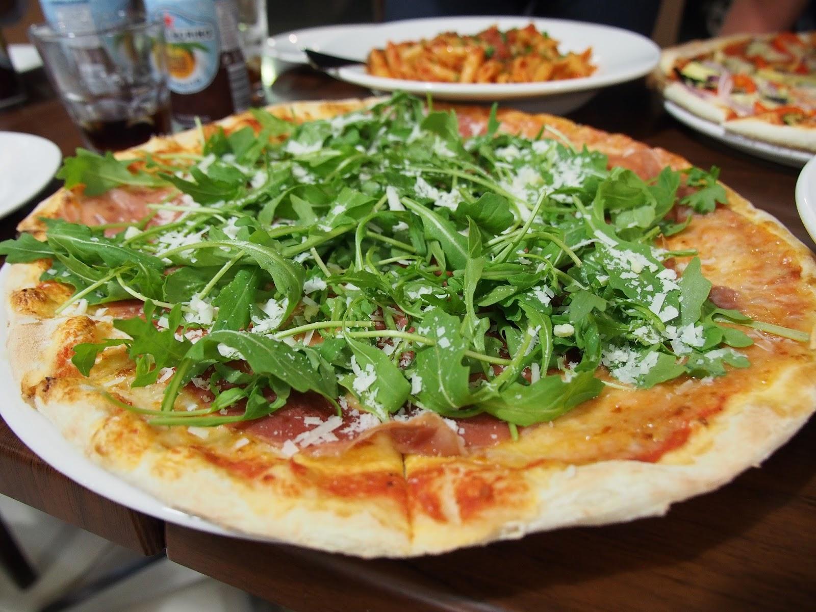 360 Gradi, Parma Prosciutto, Pizza