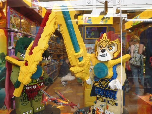 Tienda LEGO en la calle Strøget