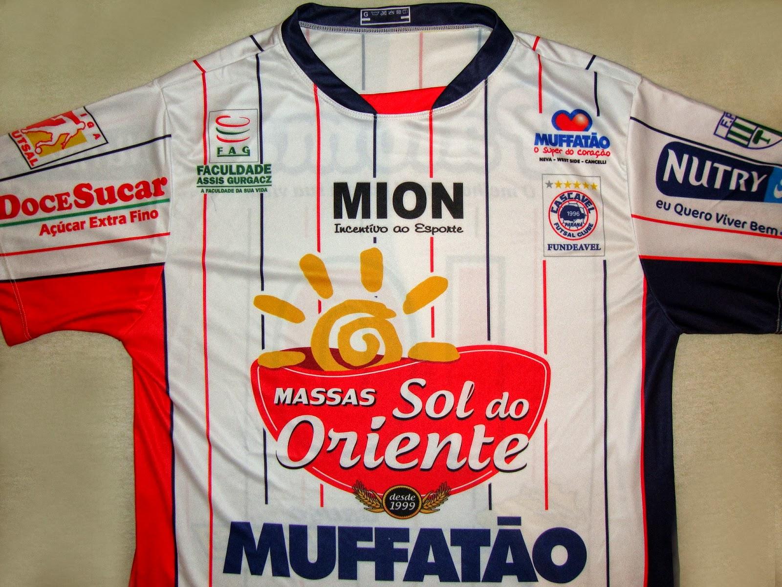 Cascavel Futsal Clube (PR) - Show de Camisas 4f4e12a712dba