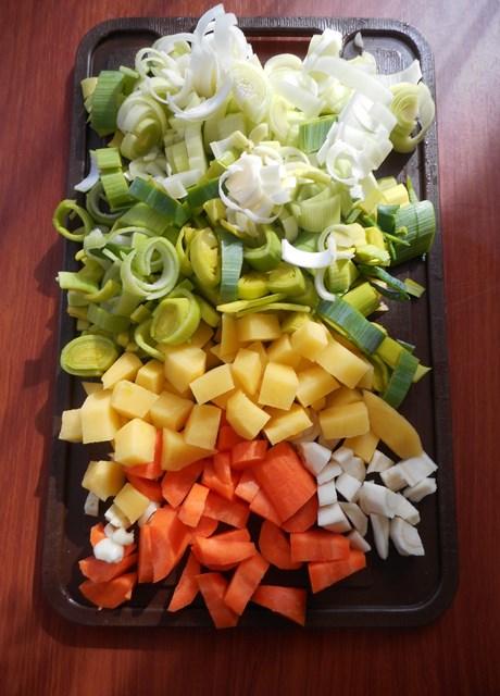 zupa z pora, krem z pora, zdrowe zupy, przepisy na zupy,