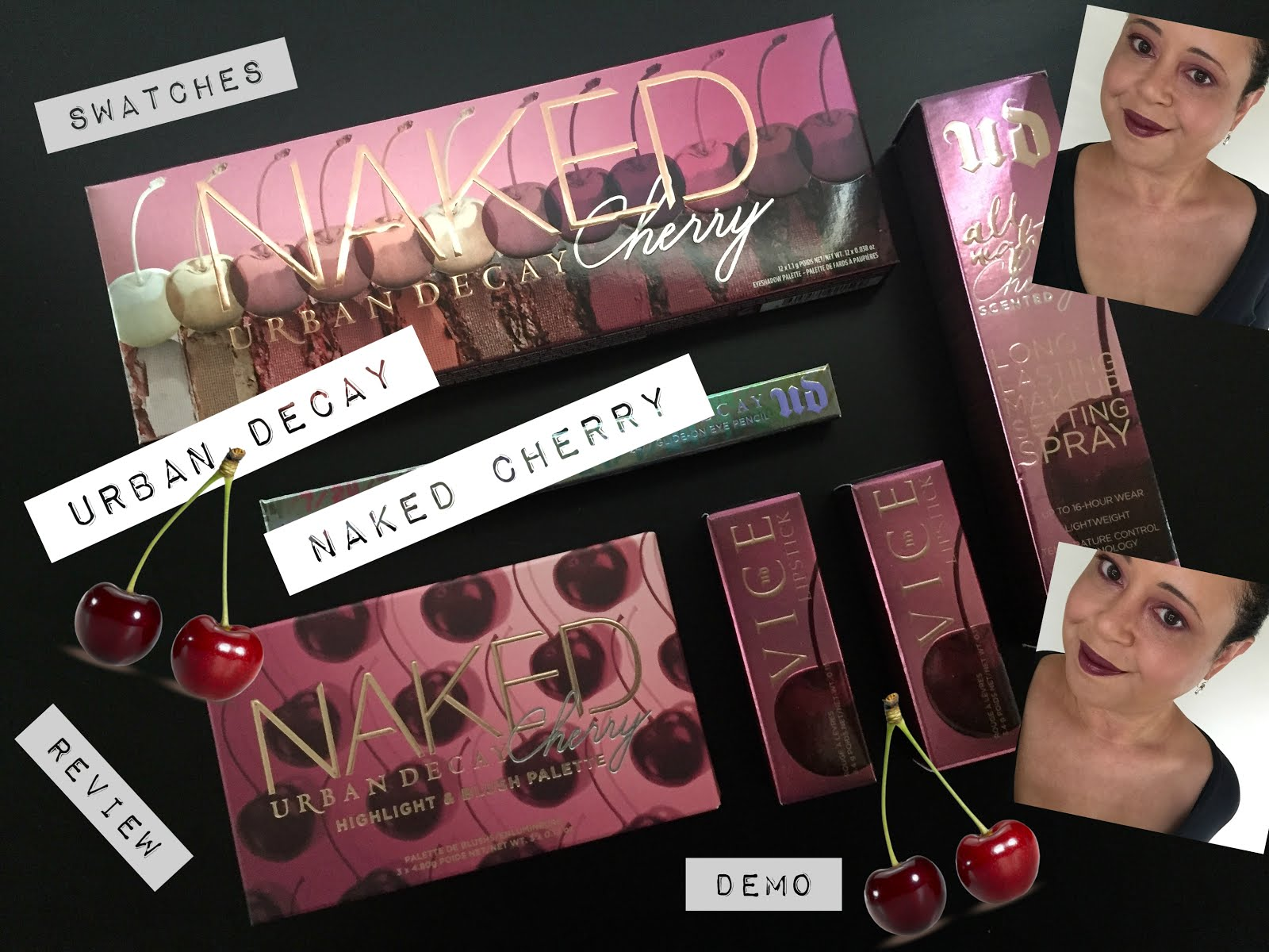 YouTube | UD Naked Cherry