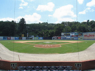 Home to center, McCormick Field