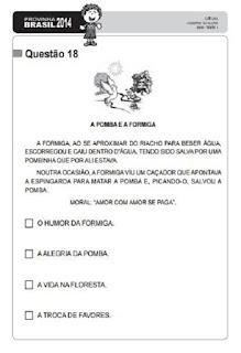 Provinha Brasil de 2014