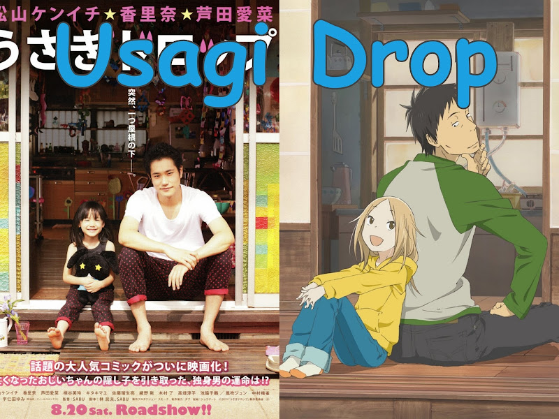 A Review Of Usagi Drop The Live Action Adaptation Manga Anime That Ac