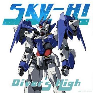 Opening Gundam Build Divers - SKY-HI - Diver's High