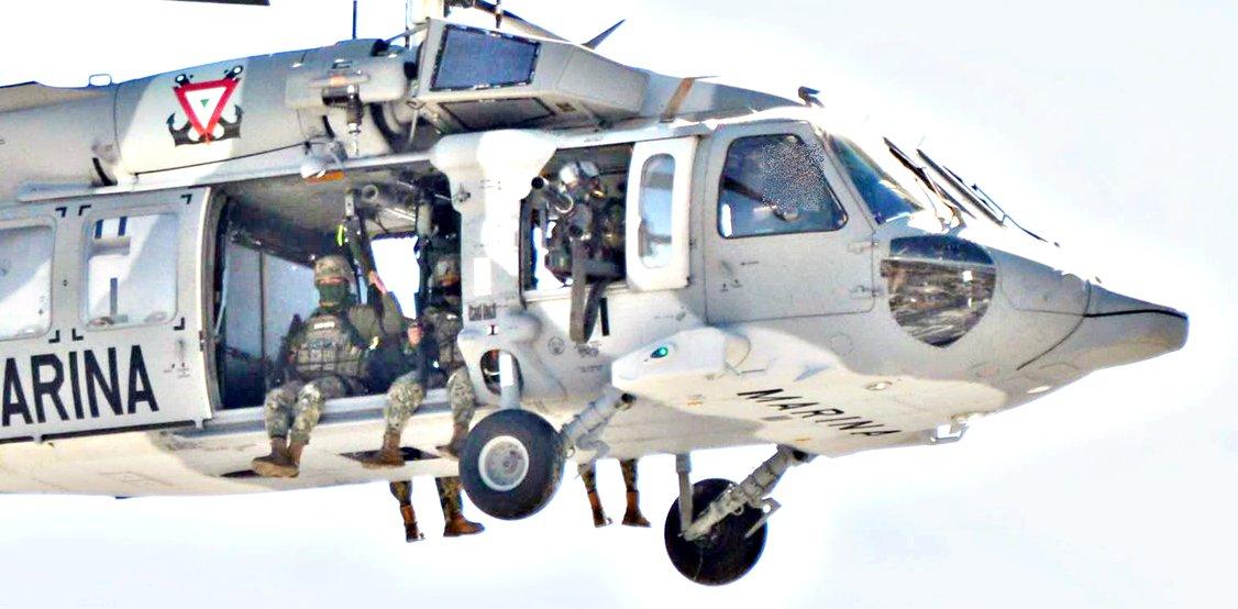 En otro enfrentamiento SEMAR abate a 2 del Cartel del Golfo, continua vigilancia en Reynosa Tamaulipas