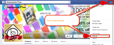 facebook tips for authors enable followers 2