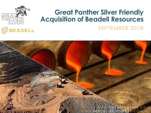 f6629273acb Great Panther Silver adquire a produtora brasileira de ouro Beadell ...