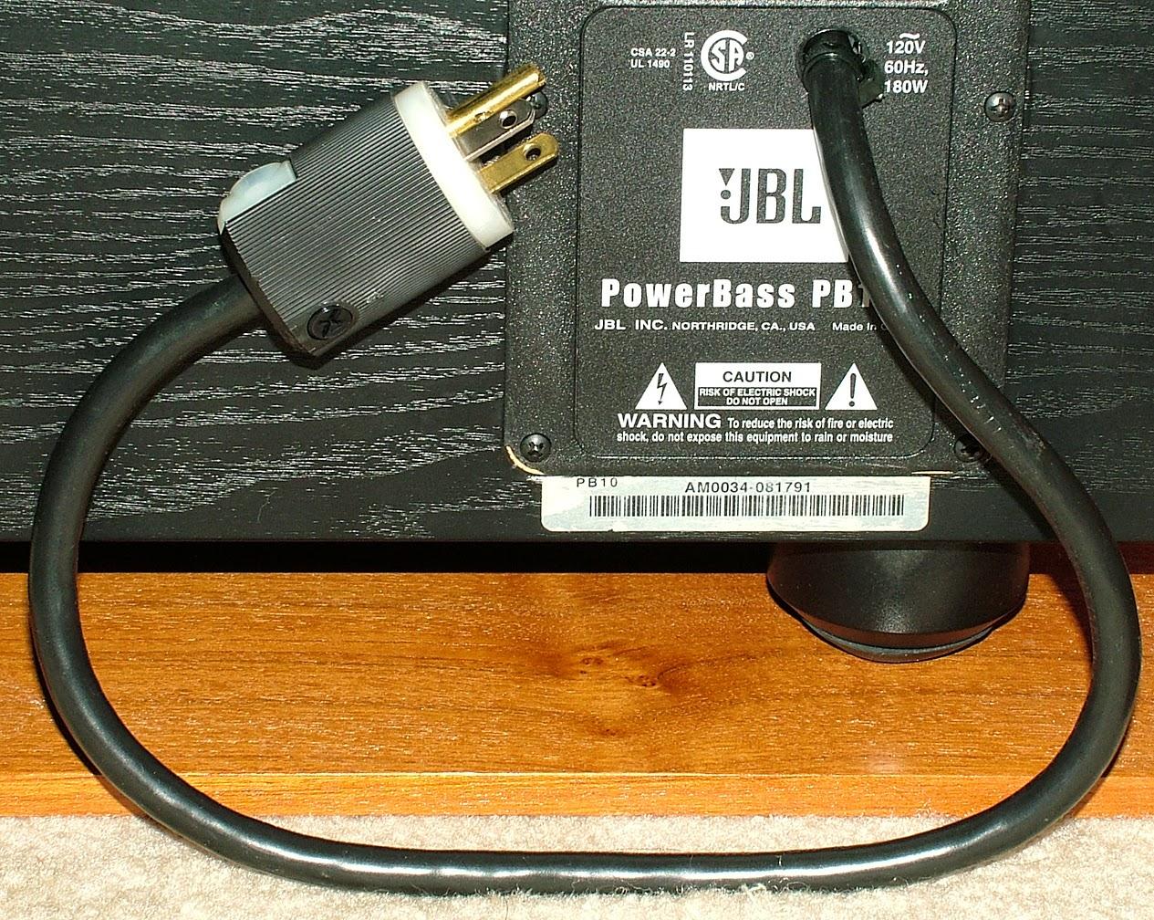 New Polk speakers, JBL subwoofer and wiring tweaks