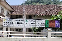 Profil Perpustakaan Sekolah SD NGASINAN, Desa Wukirsari, Bantul Yogyakarta