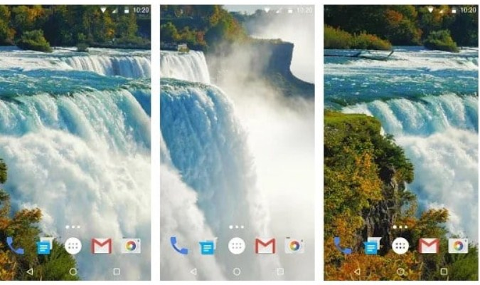 Widget Live Wallpaper - Waterfall Live Wallpaper