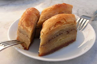Baklava, a speciality of Beypazarı district of Ankara, Turkey