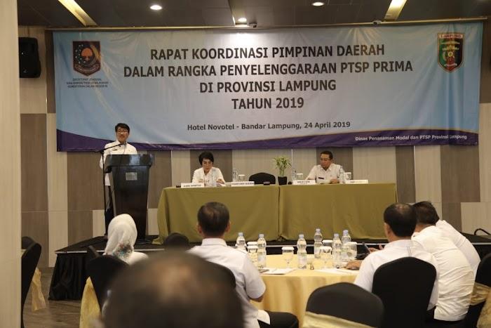 Pemprov Lampung Perkuat Kelembagaan PTSP Demi Wujudkan Pelayanan yang Prima dan Berkualitas