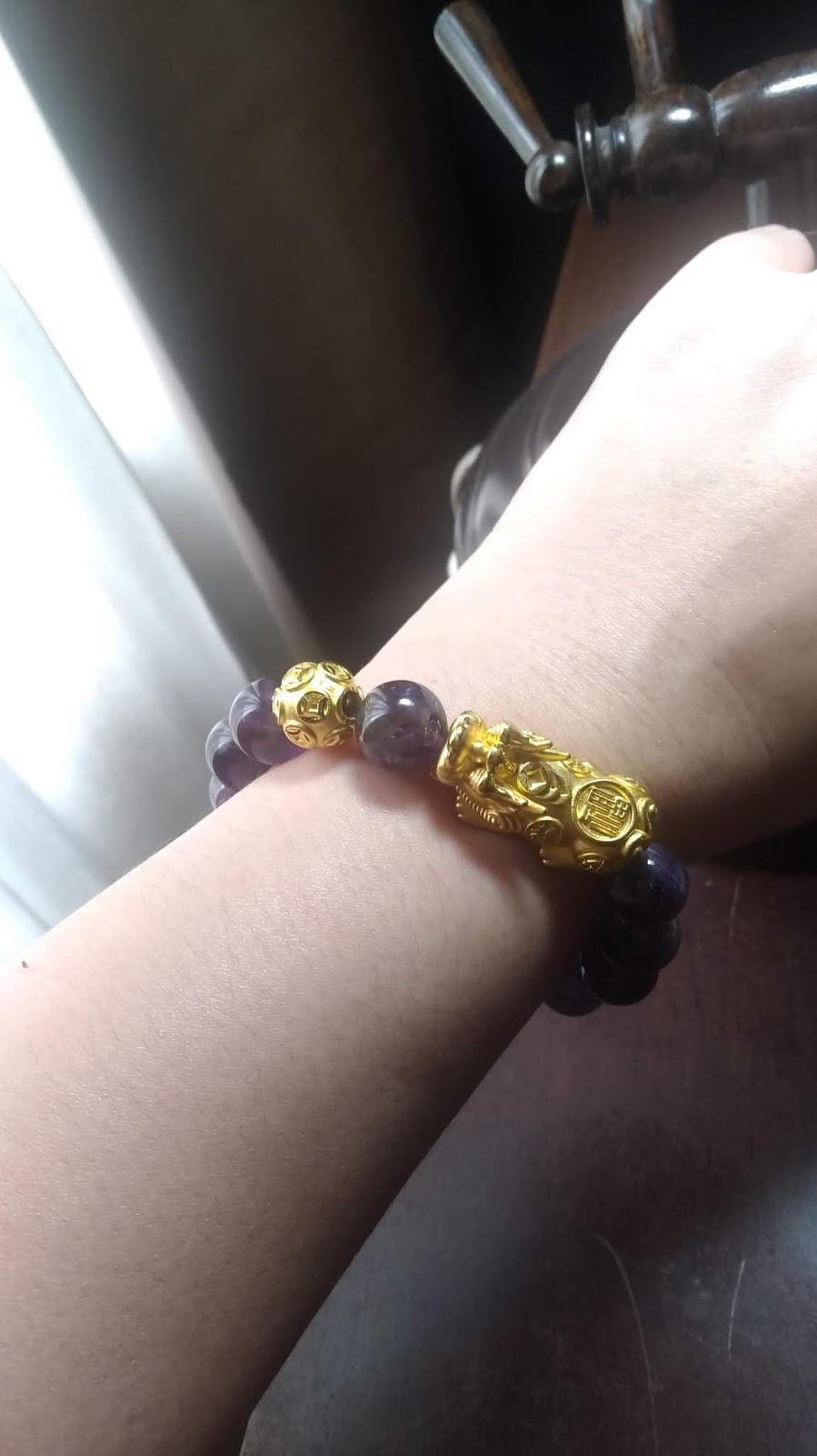 How to Wear Your Piyao (Pixiu) Bracelet   Goldiluck 999