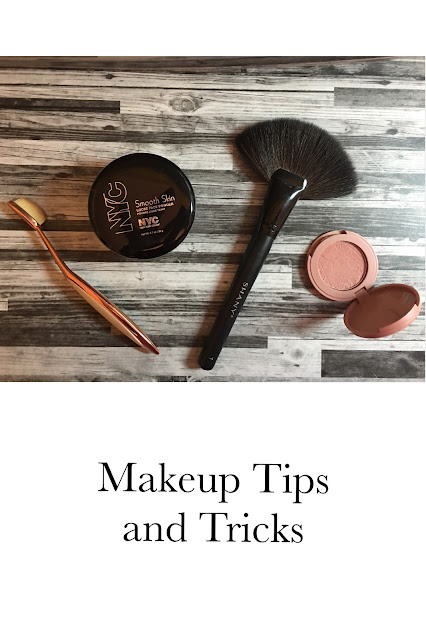 Makeup Tips and Tricks: Powder Instead of Tape and Fan Brush for Blush