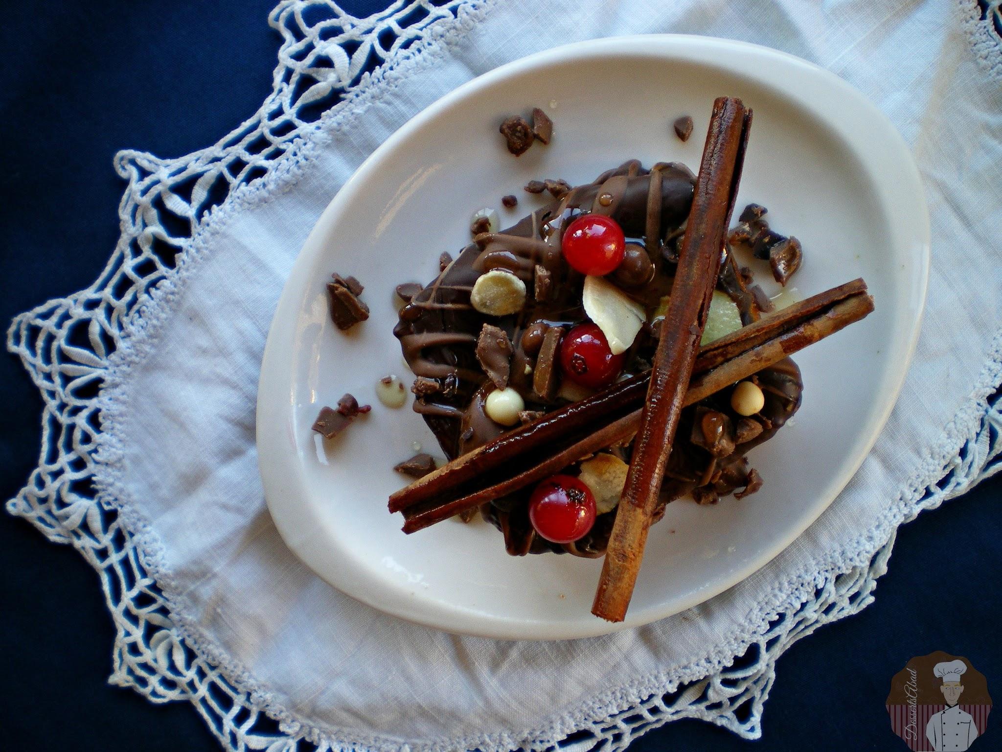 Torrijas con chocolate