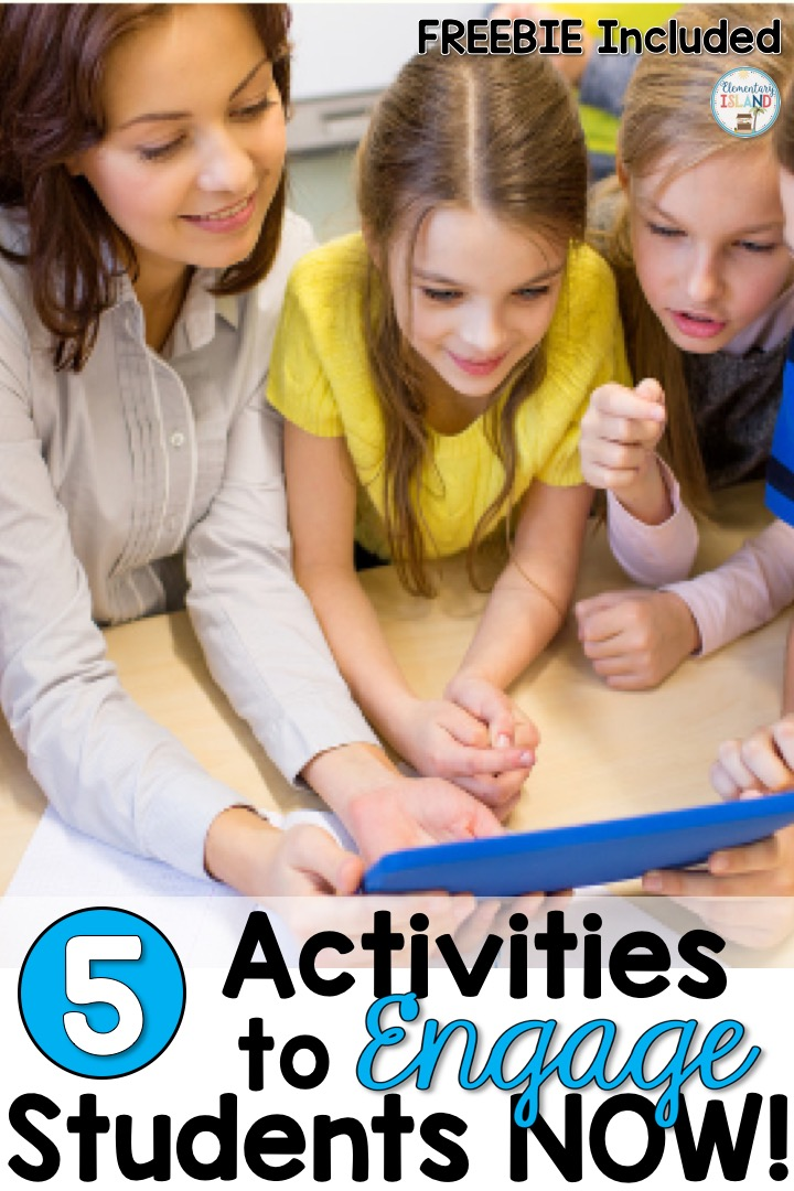 Elementary Island: Activities to Engage Students NOW {with a
