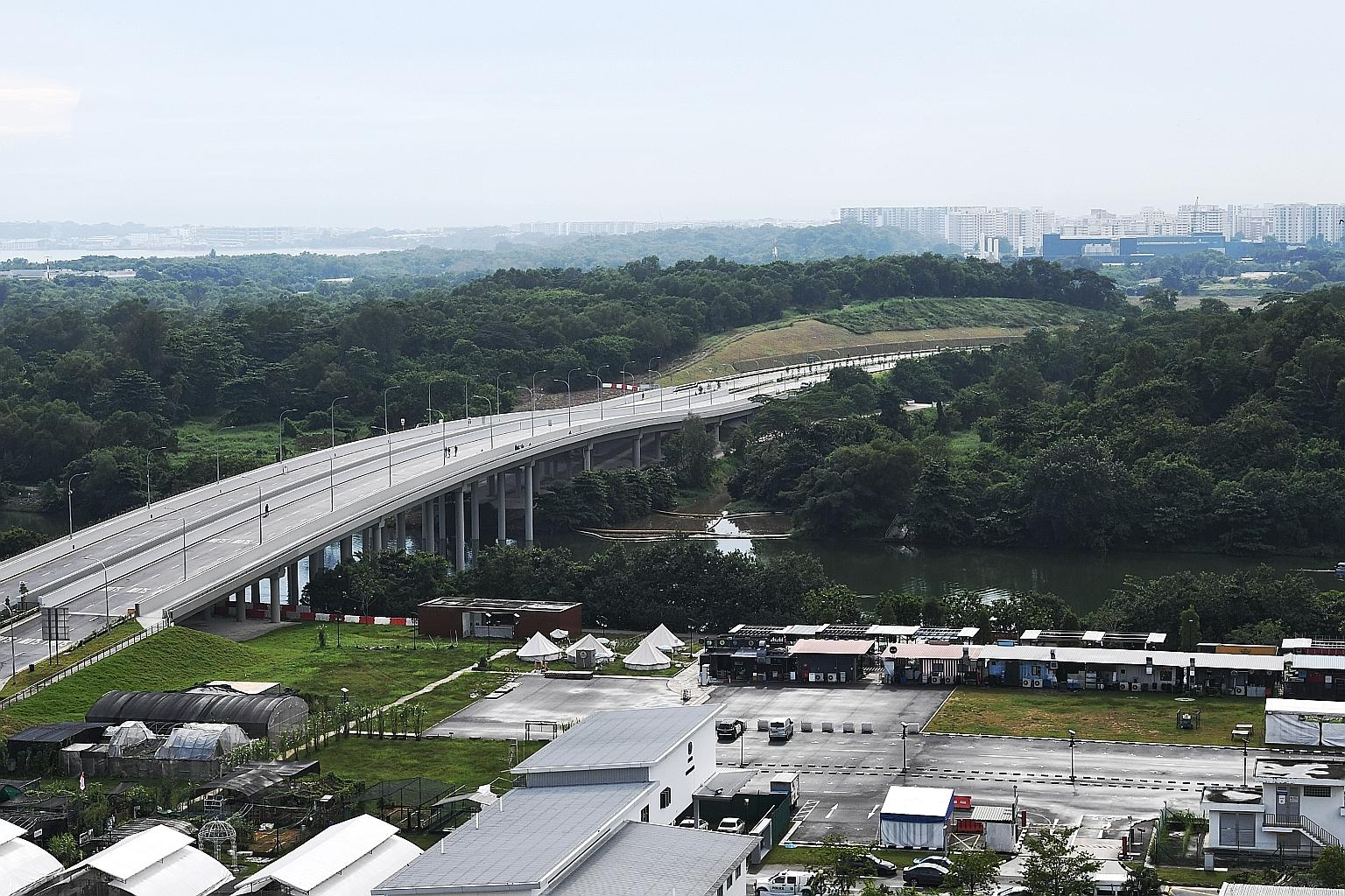 The new road connecting Punggol Central to the Kallang-Paya Lebar Expressway and the Tampines Expressway had originally been slated to open in the third quarter of next year.