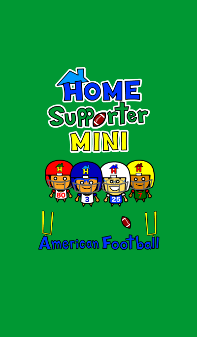 Home Supporter Mini <American Football>