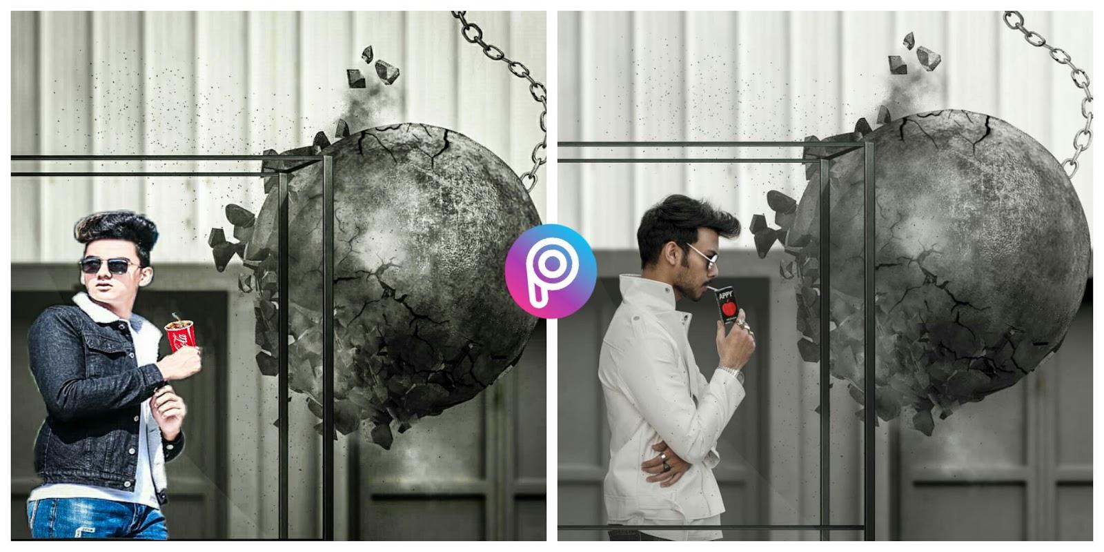 Vijay Mahar Neon Mask Picsart Edit - BerkshireRegion