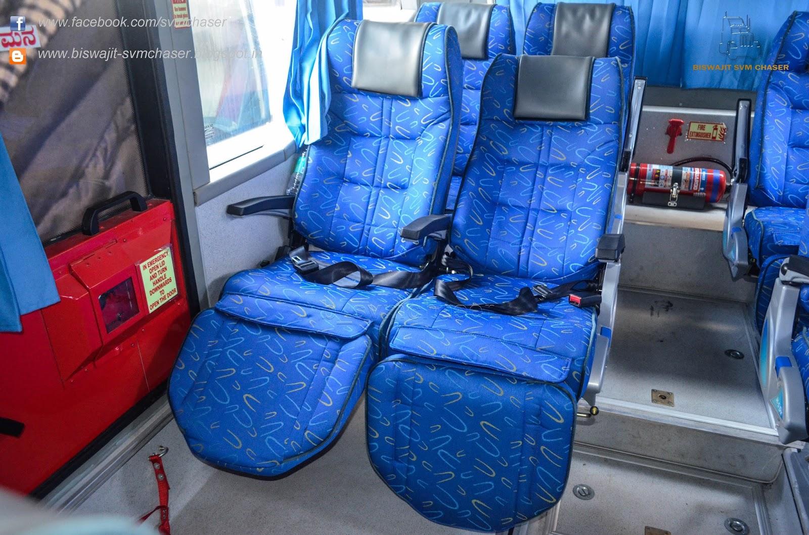 Airavat Bus Interior