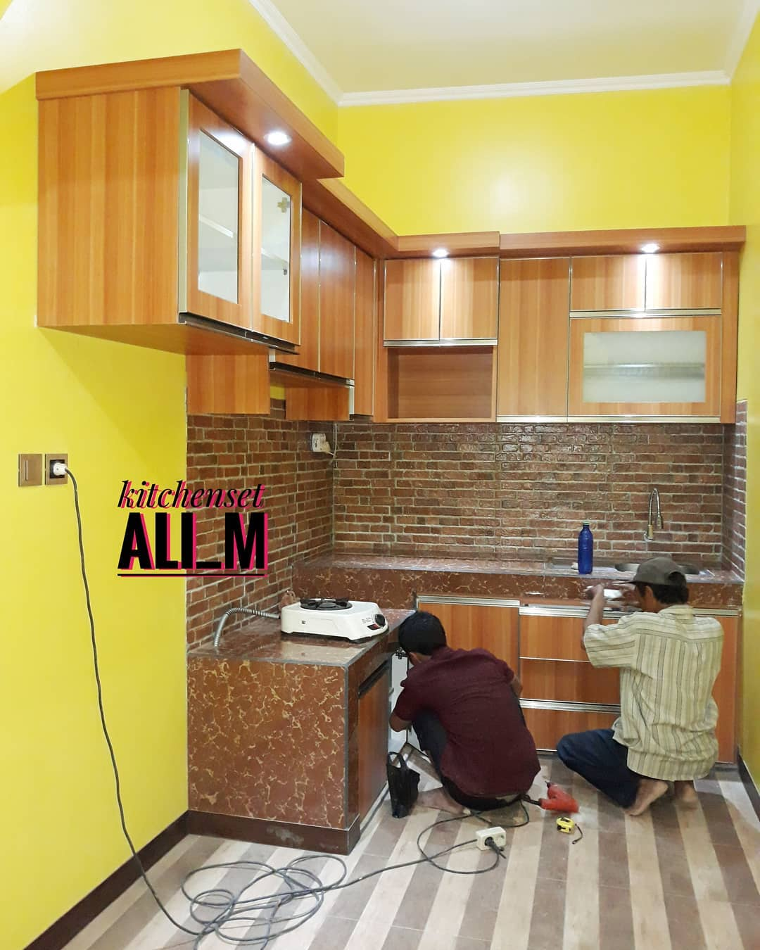 Jual Kitchenset Minimalis Murah Depok Jasa Kitchen Set Dan
