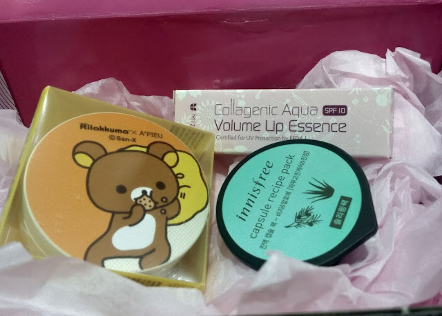 Review A'PIEU x Rilakkuma Air Fit Cushion Blusher