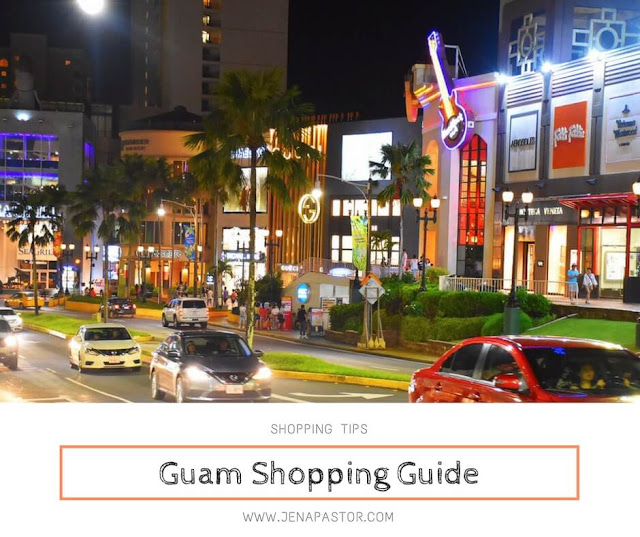 shopping tips in guam, cars on the road, shopping malls