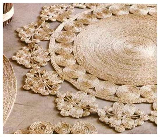 em rita desastre alfombras de cuerda