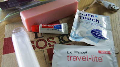 Emma Lomax Palm Tree SOS Travel Kit Contents