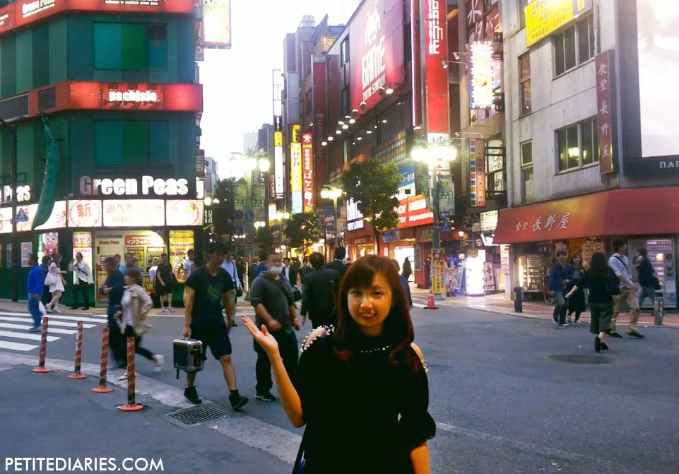 going to shinjuku tokyo japan
