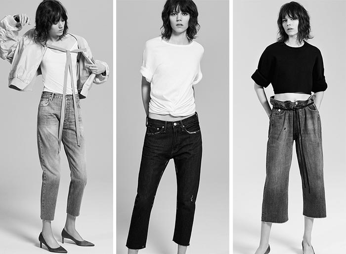 Zara Makes Pink Denim Huge With Its SS 2017 Denim Collection