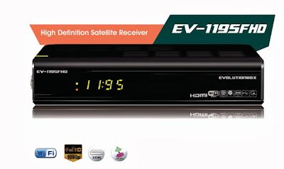 Atualização modificada para o receptorEvolutionbox EV-1095 HD