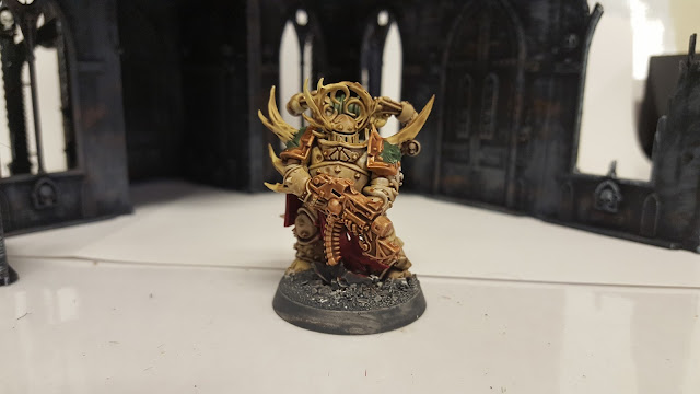 quick and easy plague marine paint scheme