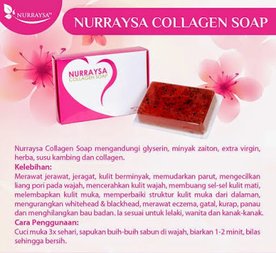 NURRAYSA COLLAGEN SOAP