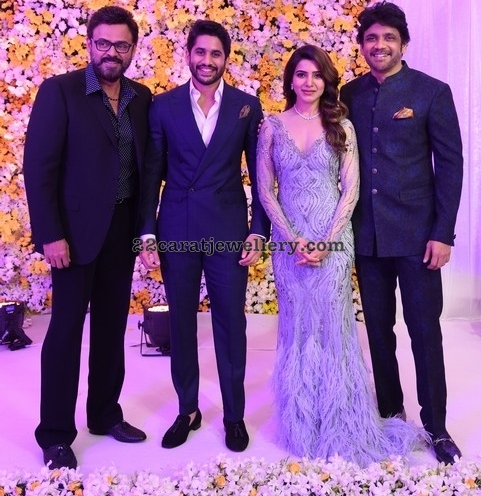 Samantha and Akkineni Naga Chaitanya Wedding Reception