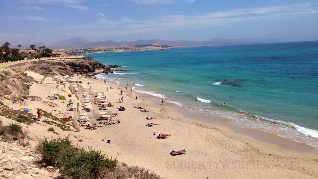 Wyspy Kanaryjskie Fuerteventura Plaża