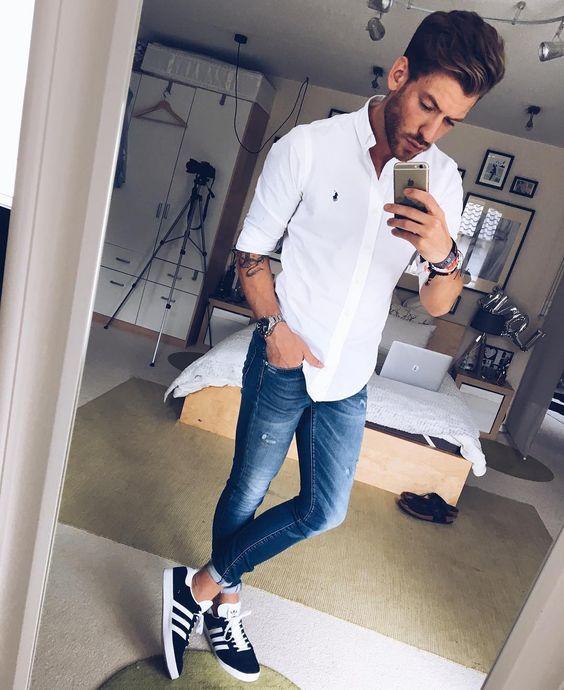 1e7ff37c3ea1f Separei abaixo algumas fotos pra inspirar vocês e logo depois VÁRIAS opções  de Onde Encontrar Calça Skinny Jeans Masculina