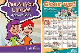 Image: Free Eye Facts for Children Posters and activity book