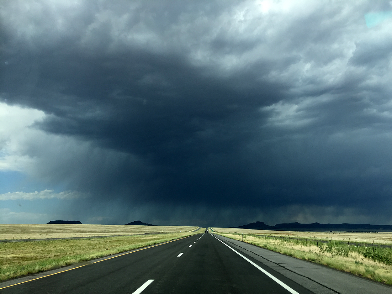Driving Into Light And Into Sky >> Forms Traced By Light Driving To Colorado