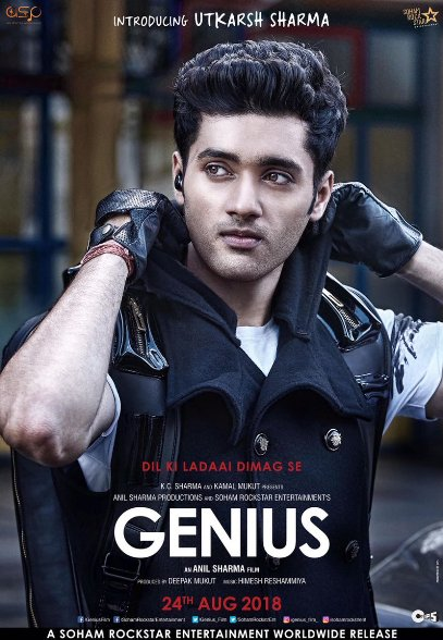 Genius new upcoming movie first look, Poster of Utkarsh Sharma, Ishita Chouhan, Nawazuddin next movie download first look Poster, release date