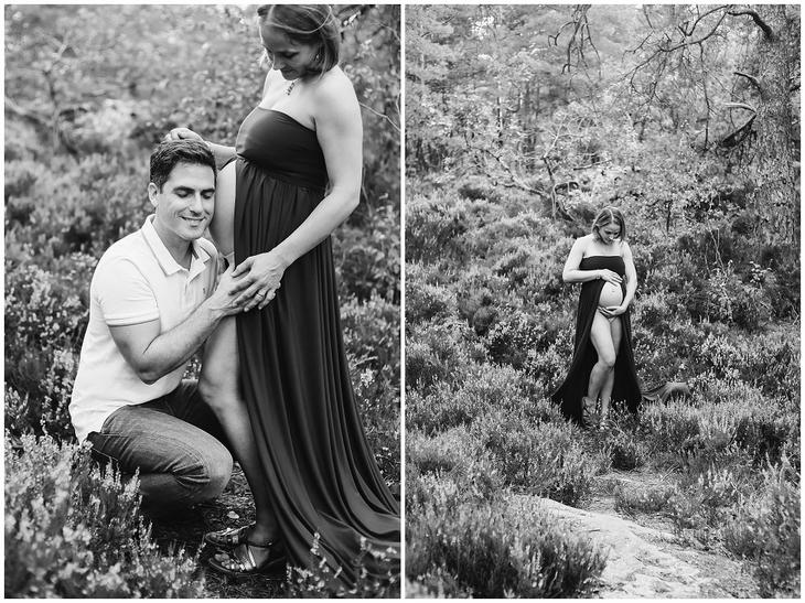 photographe grossesse seine et marne foret bebe