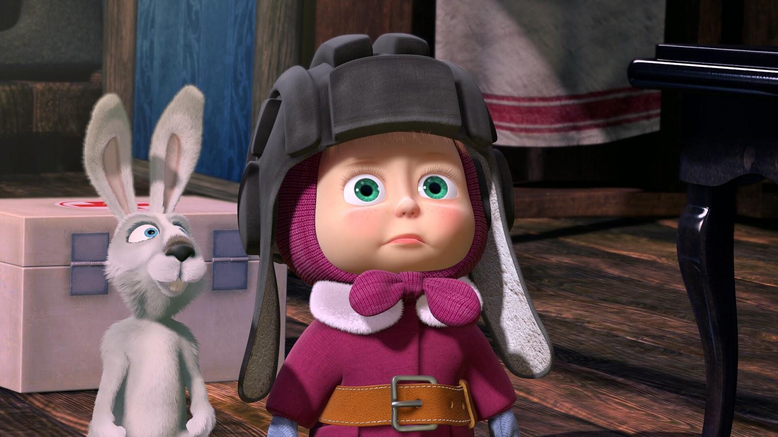 Masha And The Bear Film Animation Cartoon Hd