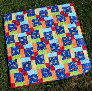 Disappearing-Nine-Patch-Baby-Quilt