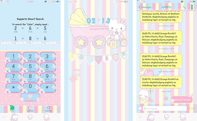 Oppo Theme: Sanrio Babies Theme