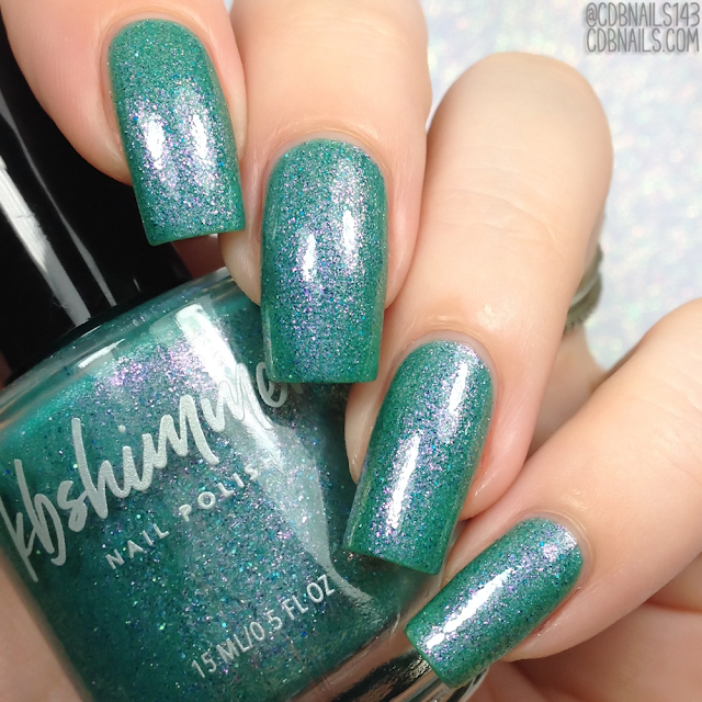 KBShimmer-Teal Another Tail