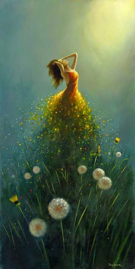 Sonhos - Um mundo encantador pintado por Jimmy Lawlor