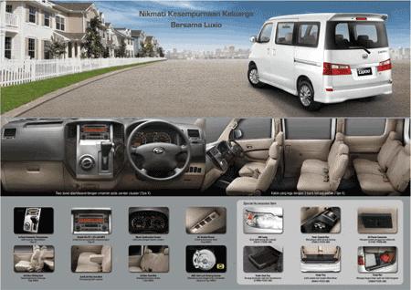 Harga Kredit Daihatsu Luxio 2018 Promo DP Murah