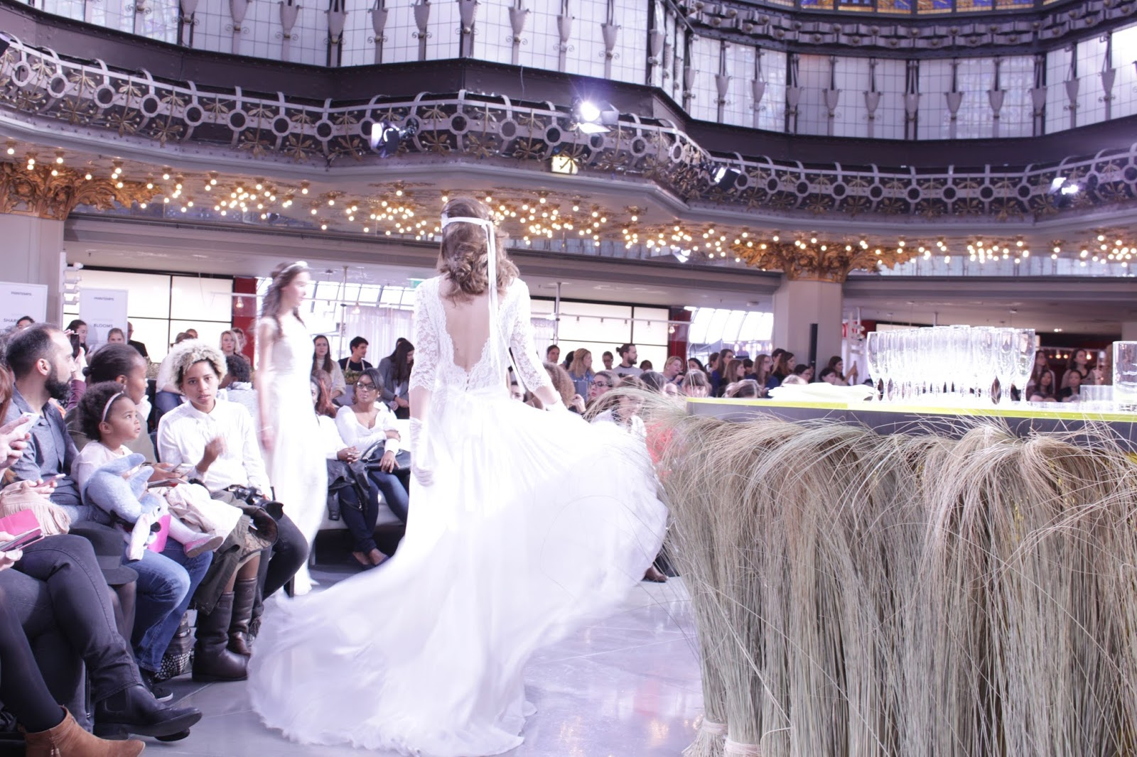 Printemps haussmann wedding show