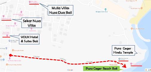 Pantai Pura Geger Bali, Pura Geger Beach Bali, Geger Temple Beach Bali